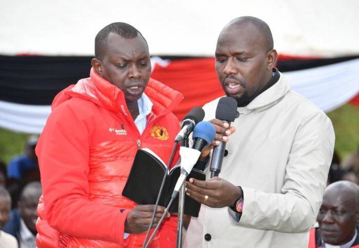Kipchumba Murkomen Lectures Uhuru