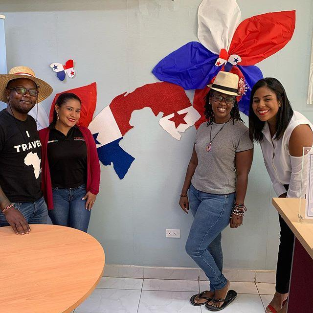 Wamuyu and Dos picture in Panama in November 2019