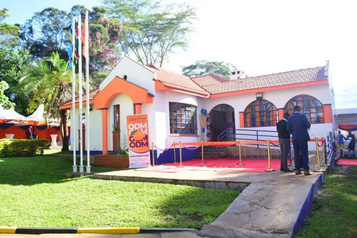 The new ODM headquarters at Lavington. It was unveiled on Thursday, November 28