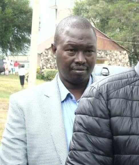Peter Chelang'a who was accused of ejecting Kapseret MP Oscar Sudi from the Late Mzee Moi's grave on Wednesday, February 12, 2020