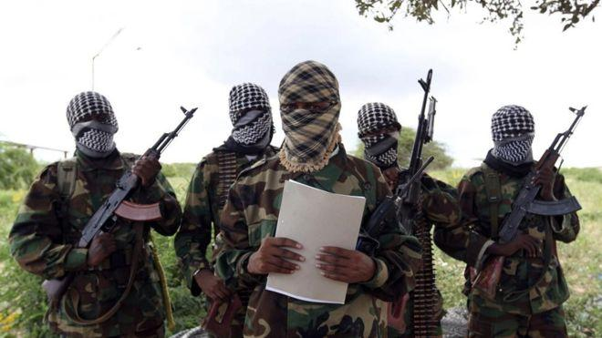 Al-Shabaab terrorists. They have been accused of being funded by suspected Kenyans