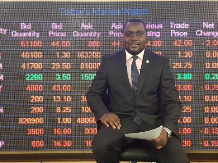 KTN News Business reporter Aby Agina is the host of the Trading Bell Show on KTN News.