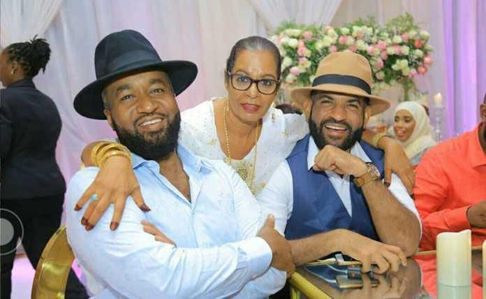 Abdulswammad with the Mombasa governor Ali Hassan Joho at a past event.