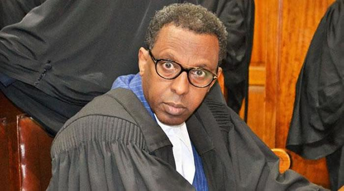 Senior Counsel Ahmednassir Abdullahi