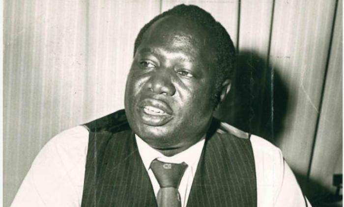 Otieno Ambala in an undated photo. The former Gem MP was married to Berly Lilian Achieng' Odinga but they divorced in 1981 after six years of an abusive marriage.
