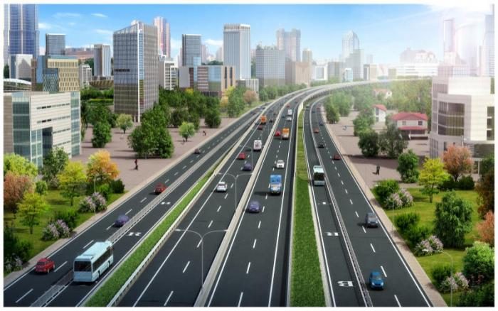 An artistic impression of JKIA-Westlands expressway. The new project is set to cut through Uhuru Park and the papal Dais at the University of Nairobi