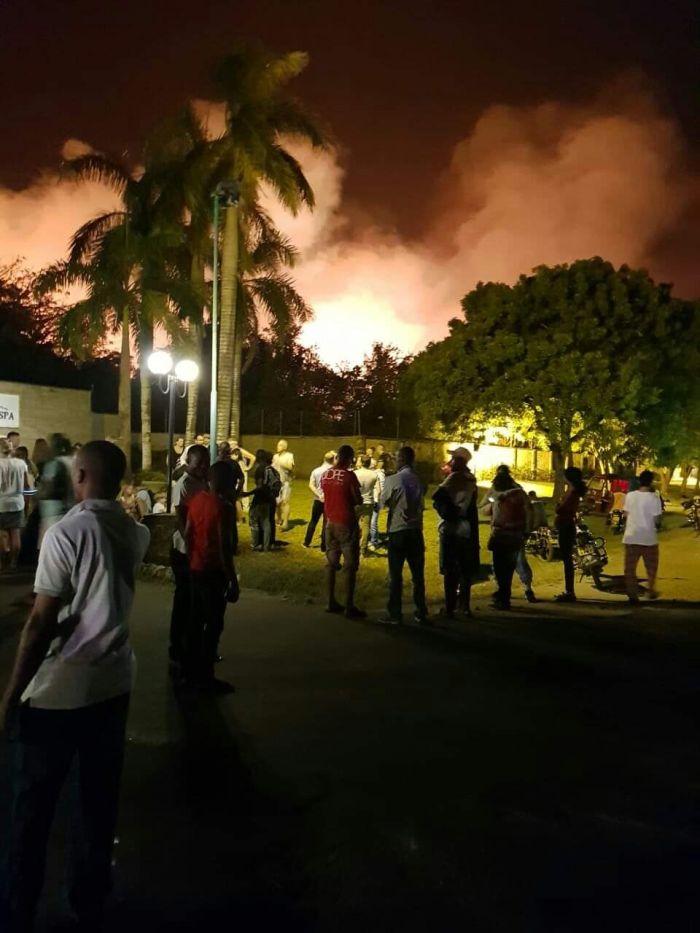 Fire Razes Down Leopard Beach Resort
