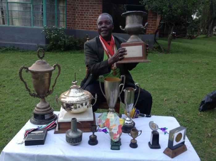 Olympic legend Ben Jipcho. He has been suffering from prostate cancer and was recently taken to hospital in Nairobi.