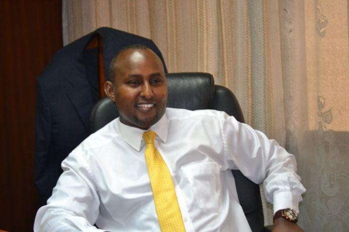 Suna East MP Junet Mohammed. He slammed Malindi MP Aisha Jumwa during Gumbao Jola's burial on Saturday, October 26.