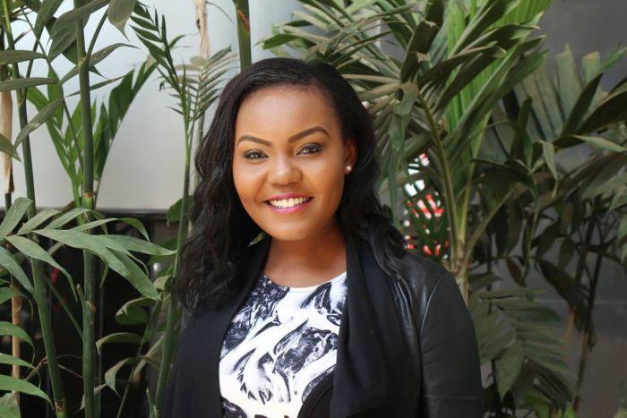 NTV Radio/ TV presenter Cate Rira.