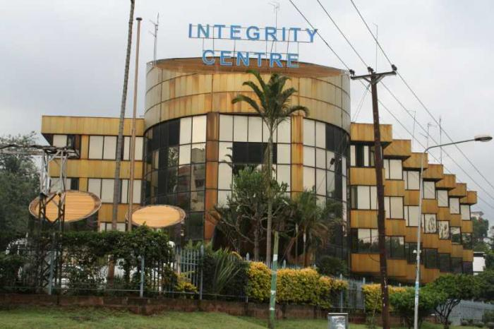 EACC headquarters at Integrity centre. Nairobi Governor Mike Sonko has been involved in several back and forths with the commission.