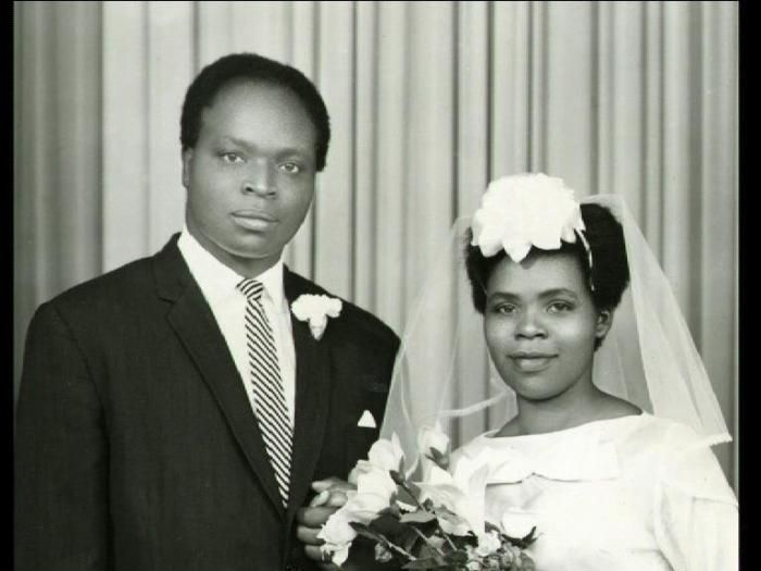 Mwai Kibaki wedded Lucy Muthoni in 1962. She was the daughter of a church minister and a secondary school headteacher.