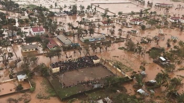 Cyclone Idai hit four provinces in Mozambique on March 16, 2019 .
