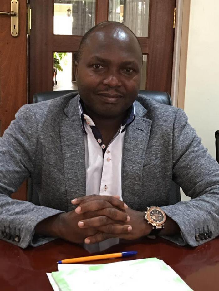 City Lawyer Donald Kipkorir at a past event. He and Kipchumba Murkomen clashed on Twitter over the decision by Eliud Kipchoge to sue a radio station for wrongful use of image.