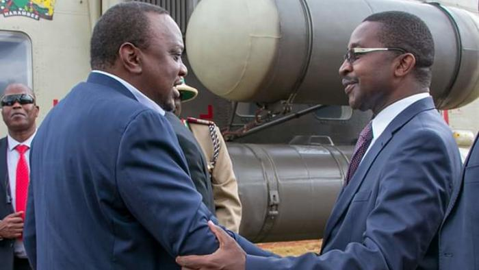 Image result for mwangi wa iria with uhuru