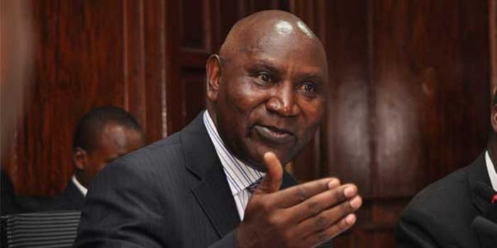 Auditor General Edward Ouko who had predicted that the instability of pulleys and plows on Likoni Ferry