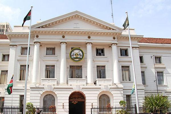 A photo of the Nairobi county headquartes