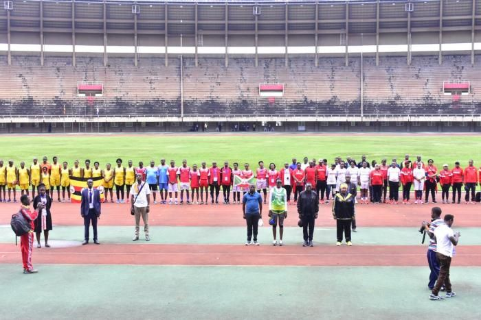 The 10 edition of the East African parliamentary games held at the Namboole stadium in Kampala Uganda.