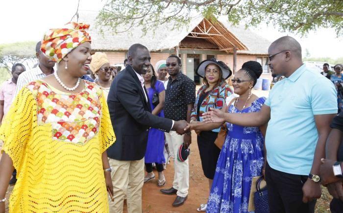 Deputy President William Ruto meets local leaders in Taita Taveta county on Friday, January 17