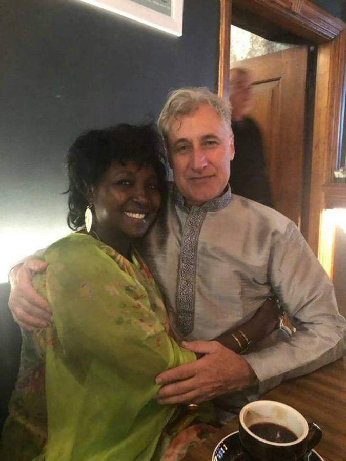Uasin Gishu Woman Representative Gladys Shollei pictured with a close friend