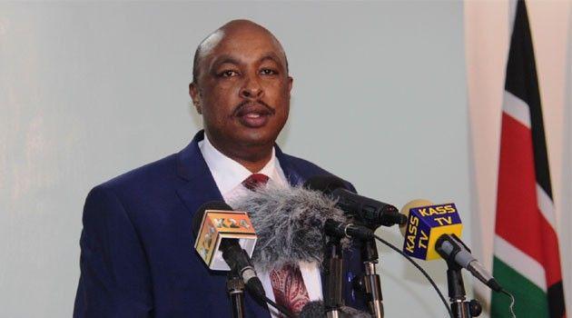 Image result for Kiraithe fired as government spokesperson