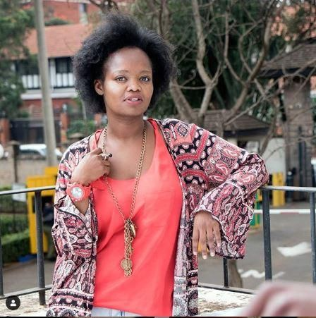 Kenyan actress Nice Githinji. On Thursday, January 9, Subira, a film she played cast in was selected to play in Fly Emirates