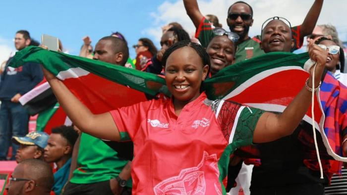 Radio presenter Carol Radull attending a past sporting event. She once got broke after spending her salary without saving any of it.
