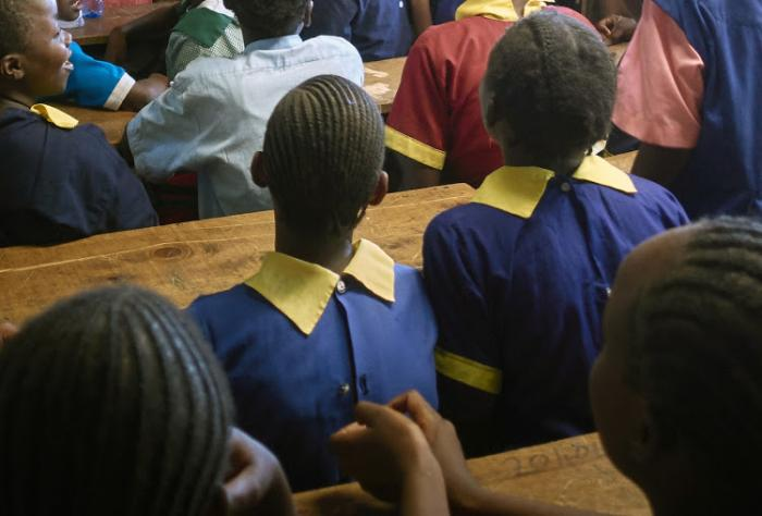 Image of young pupils in a classroom. A 14-year-old girl allegedly killed herself after being humiliated because of her periods