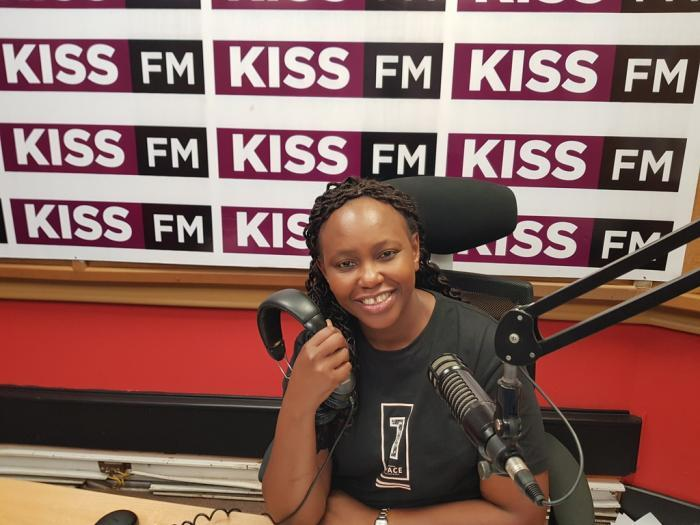 Radio presenter Carol Radull. She was previously at Kiss 100 FM before moving to Classic 105.