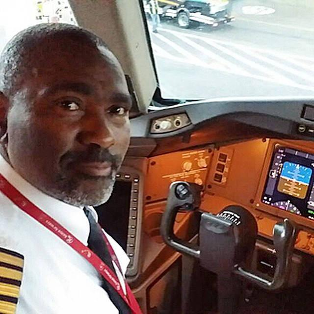 Image result for First Kenyan to land direct flight from Nairobi to ny/ captain Ndichu Kinuthia
