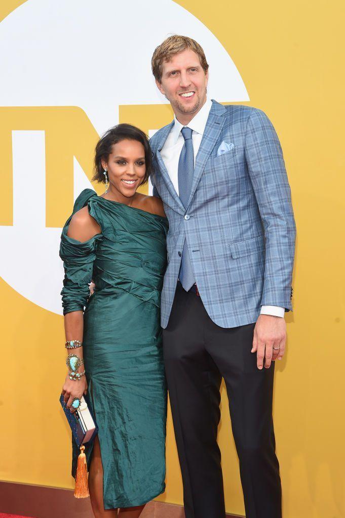Jessica Olsson and Dirk Nowitzki