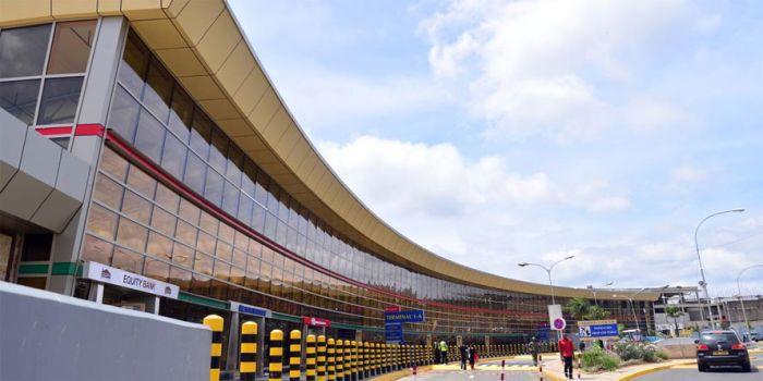 A past photo of the Jomo Kenyatta International Airport