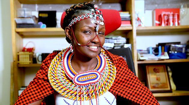 Josephine Kulea, a human rights activist in Kenya