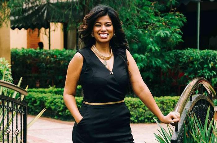 Former news presenter Julie Gichuru