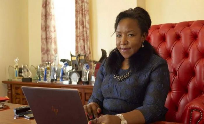 City business woman Ann Kagure.