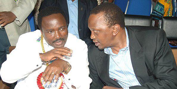 Image result for Kalonzo together with uhuru and Raila