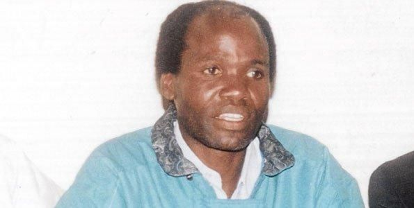 The late Amos Kandie. He was the only politician who vied against Moi in Baringo Central Constituency during the 1997 General Election.