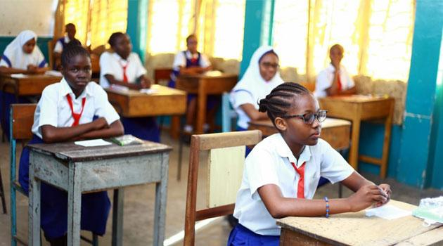Pupils sit for their Kenya Certificate of Primary Education (KCPE) which began on Tuesday, October 29.
