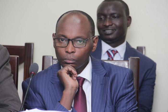 Nairobi County Finance CEC Charles Kerich. He was among the ones suspended by Nairobi Governor Mike Sonko after a classroom collapsed in Precious Talent School.