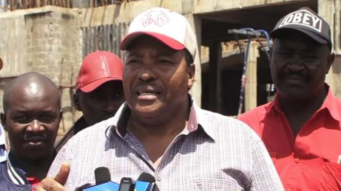 Kiambu Governor Ferdinand Waititu addressing the media at a past event. The embattled county maintained that despite being ranked as the worst performer, things on the ground are quite different
