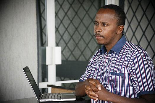 Dagoretti Member of Parliament John Kiarie. He was chased away by angry residents when he tried to address them at the scene of the collapsed school.