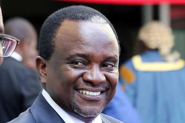 A past photo of Kirinyaga senator Charles Kibiru. The senator is also the CEO at Thika Greens Limited.