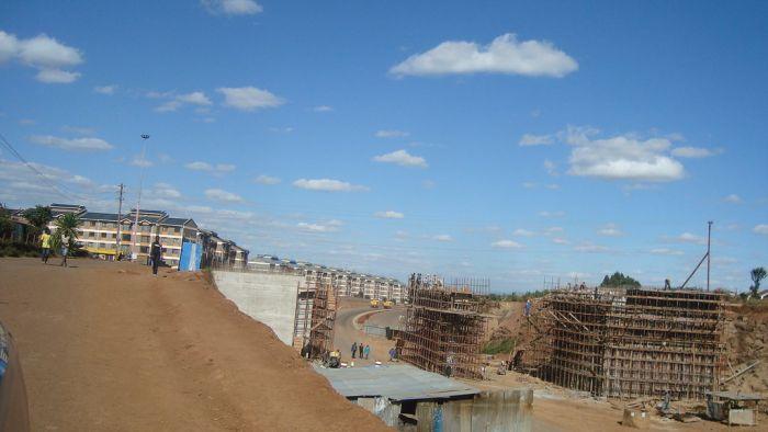 Langata NHC flyover along the Southern Bypass