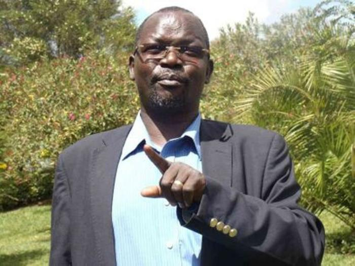 Governor John Lonyangapuo (pictured) had threatened to sack the nurse in charge of the facility on Monday, January 20.