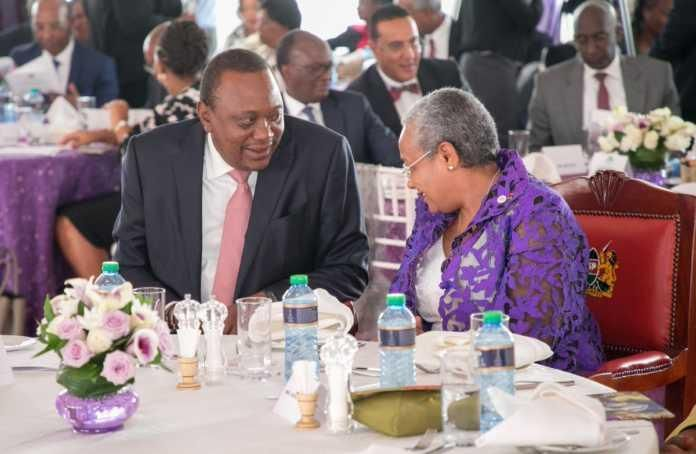 First Lady Margaret Kenyatta is the head of the PURES program.
