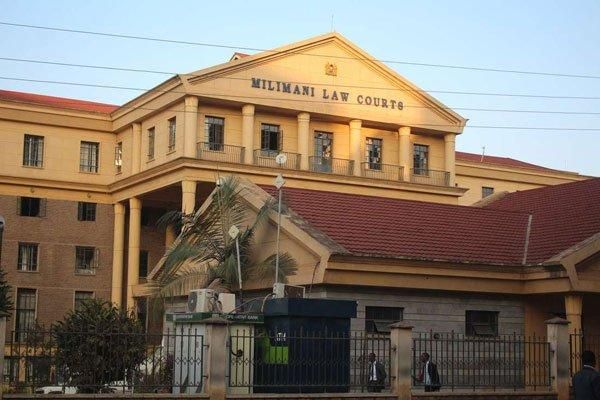 The Milimani Law Courts in Nairobi as pictured on April 1, 2019.