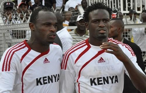 Mariga and Dennis Oliech in a past match. Ida further noted that the Jubille candidate should have just stuck with what he knew best and that was the sport that took him across the world.