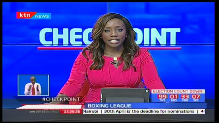 Yvonne Okwara when she was working at KTN. She has narrated how humiliating her first TV interview was