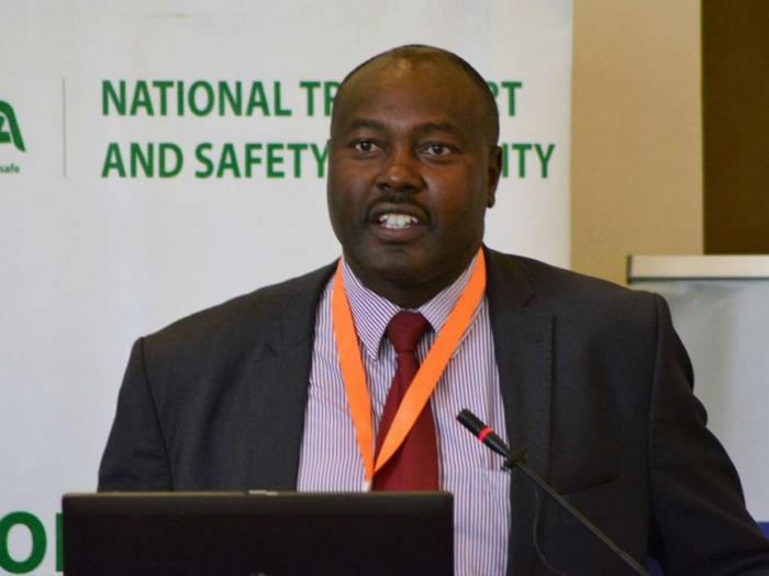 Outgoing director-general Francis Meja.