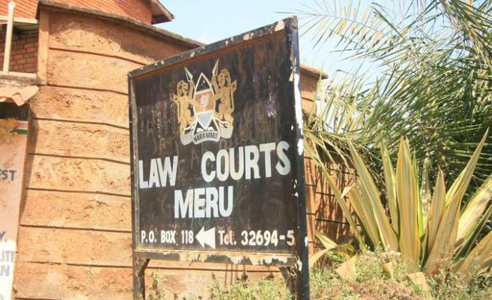 signage to the Meru Law Courts